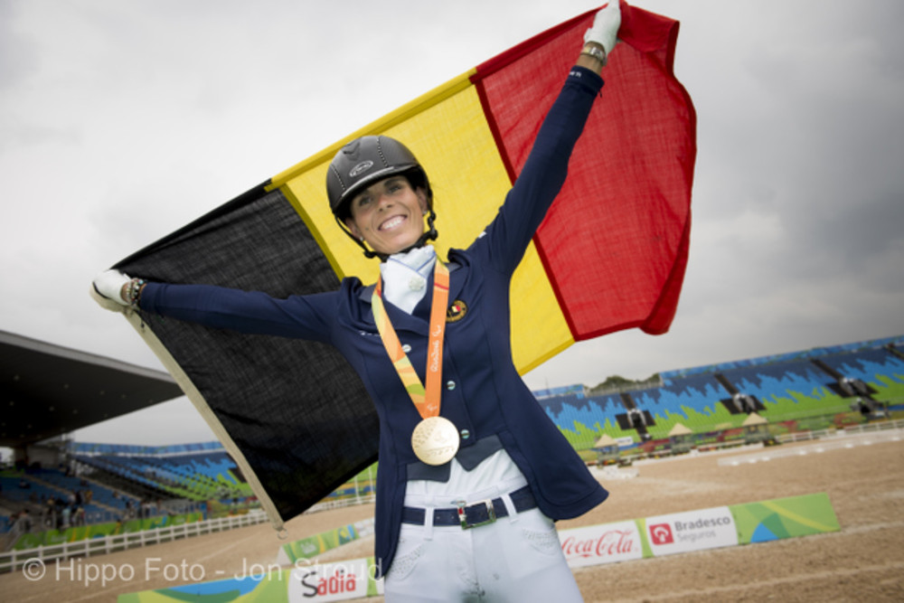 Goud voor Michèle George en FBW Rainman in de Freestyle.